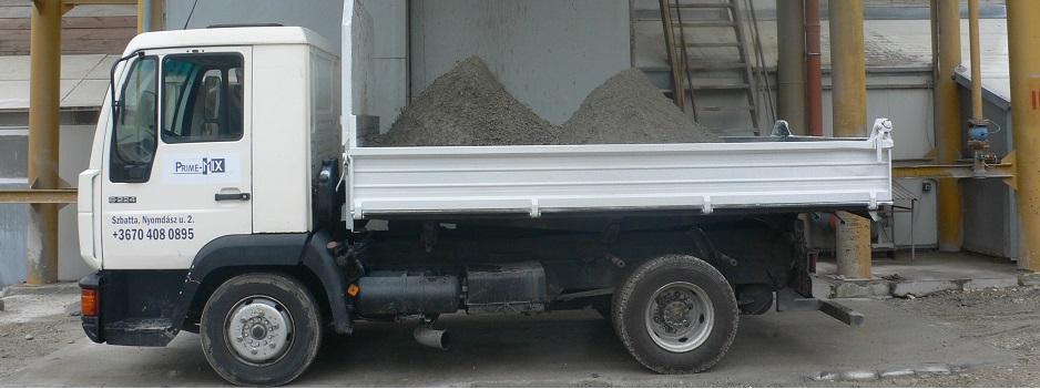 Földnedves beton